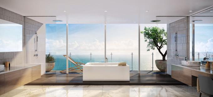 Oceana Bal Harbour - Master Bathroom